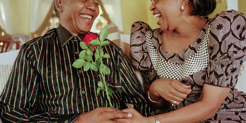 Mandela And Graca