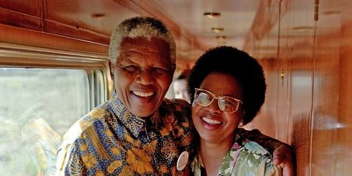 Nelson Mandela And Graca Mache