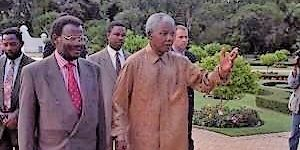 Eric Miller Collection Mandela And Buthelezi
